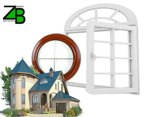 арочные окна киева