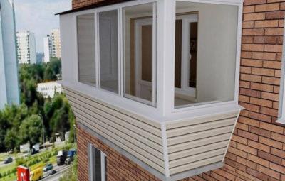 Застеклить балкон в Хрущевке Киев