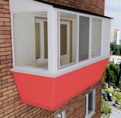 застеклить балкон недорого