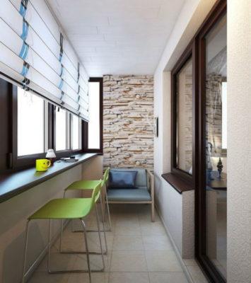 внутренняя отделка балконав киеве - BALKON®