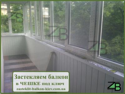 Балкон под ключ фото киев, ул.перова-застеклить балкон.фото .