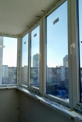 окна вдс на балкон