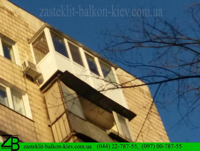 недорого по цене застеклить балкон в киеве