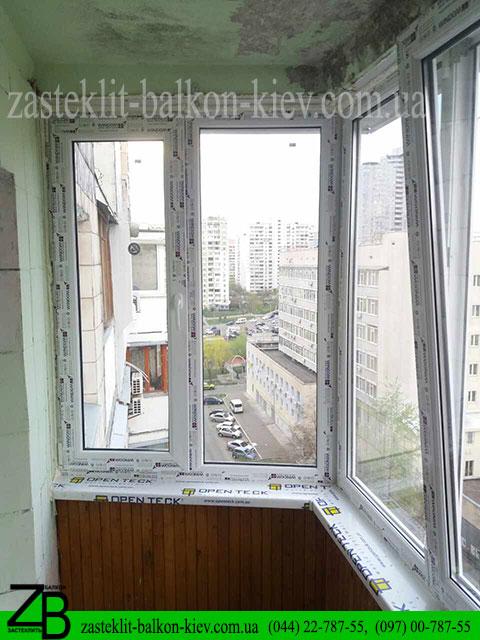 профиль для остекления балкона, в киеве, недорого, цены, заказать,
