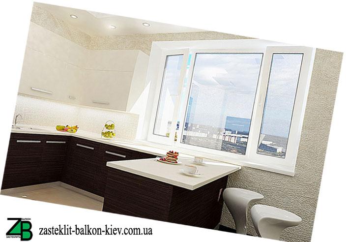 окно на кухню