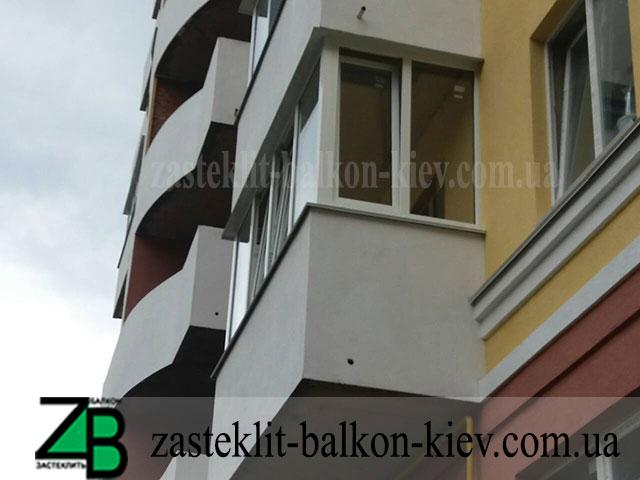 виды остекления балкона в киеве хрущевка