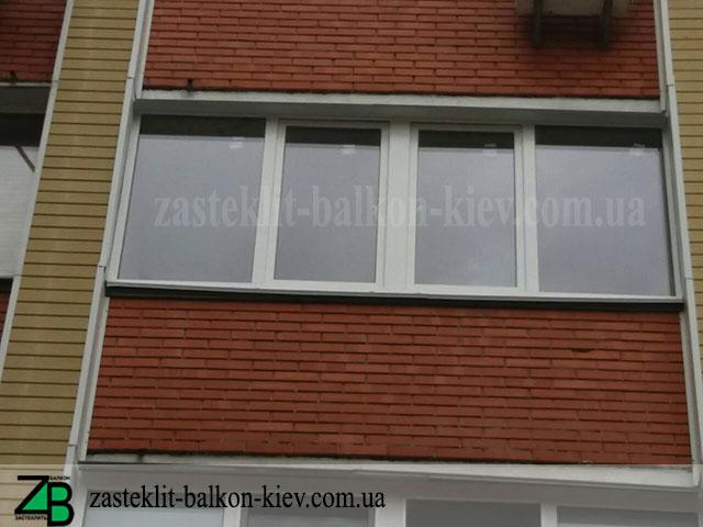 виды остекления балкона в киеве