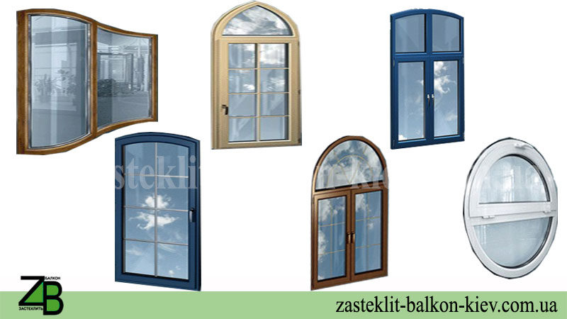 арочные окна купить недорого