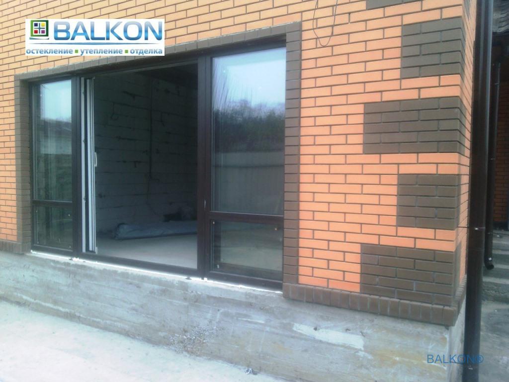 Раздвижные пластиковые окна в Киеве - компания Застеклить Балкон