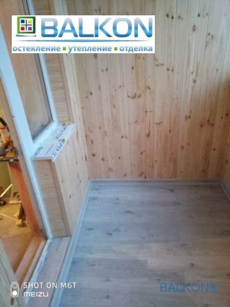 """Остекление лоджии под ключ Киев ул. Конева 5""""Г"""""""