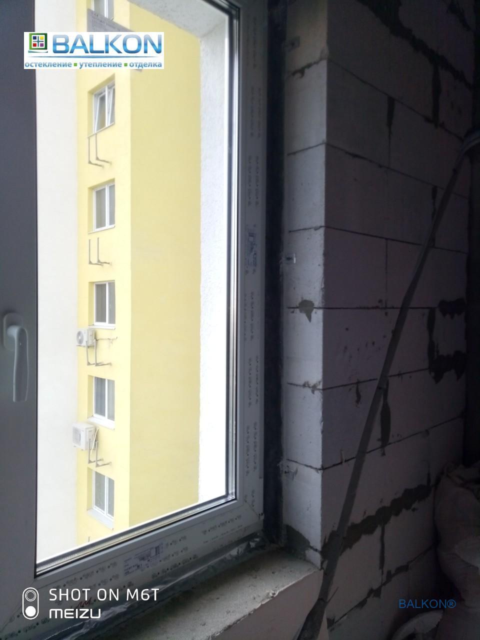 Евромонтаж пластиковых окон в Киеве на ул. Вацлава Гавела 9а