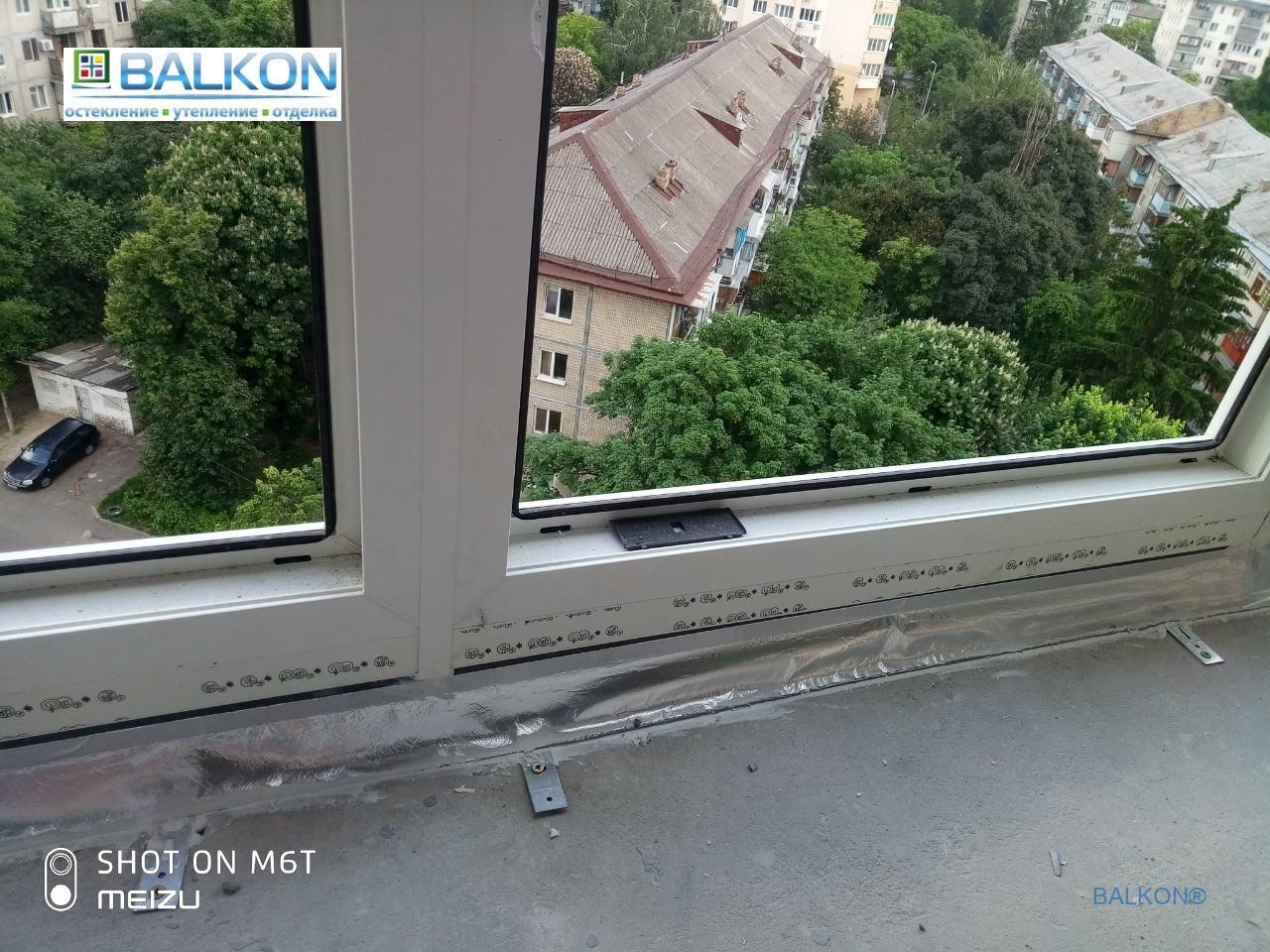 Евромонтаж пластиковых окон в Киеве ул. Вацлава Гавела 9А