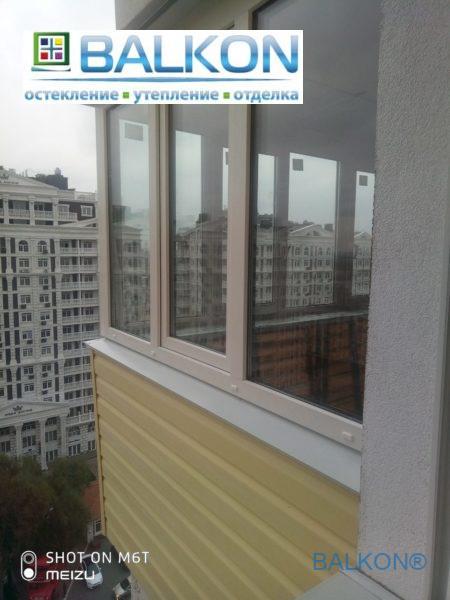 Балкон под ключ Киев ул. Максимовича фото бригады 14