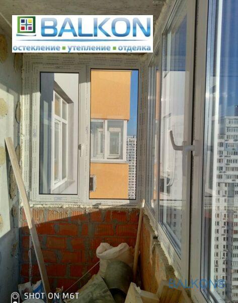 Пластиковые окна REHAU Киев фото 4 бригады