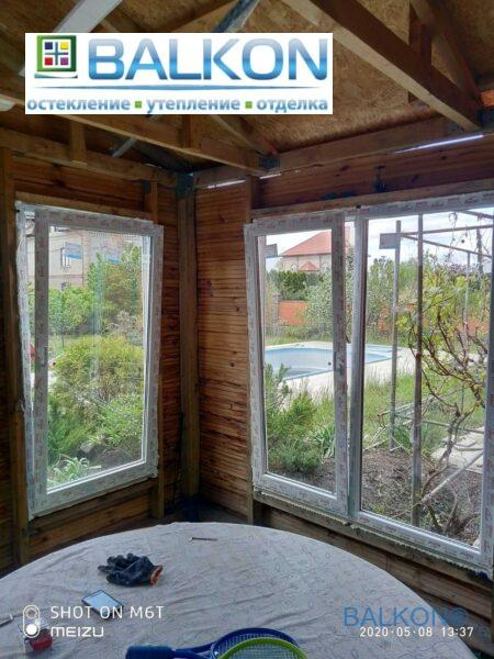 Пластиковые окна на дачу Бортничи на ул. Ялинкова фото 4 бригады