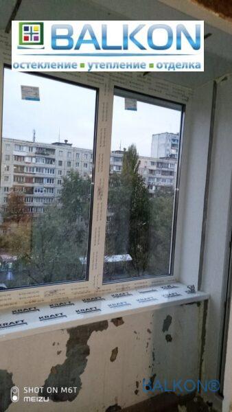 Подоконник на балкон (Kraft)